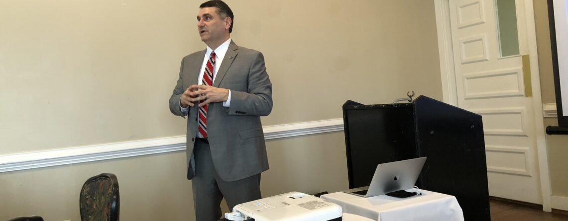 Liberty Law's Dean Addresses the Lynchburg Bar